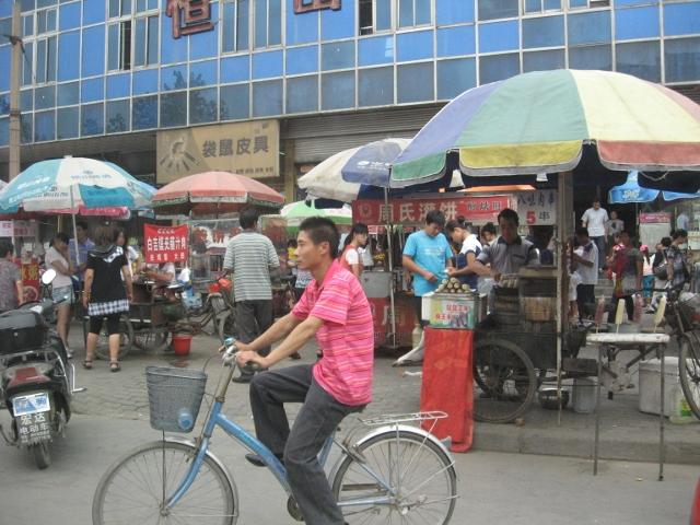 Framme i Zhengding County i Hebei